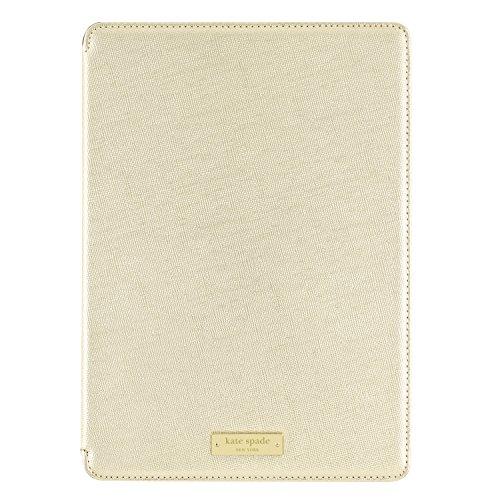 kate spade new york iPad Air 2 Folio Hardcase [Shock Absorbing] for iPad Air 2 Only - Metallic (Ipad Air Case Kate Spade Folio)