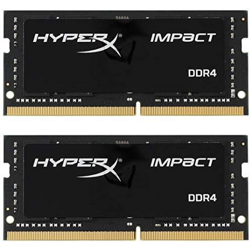 HyperX Impact DDR4 HX429S17IBK2/32 Memoria RAM 2933MHz CL17 SODIMM 32GB Kit (2x16GB)