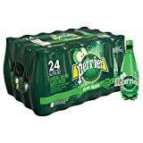 PERRIER Green Apple Flavored Sparkling Mineral Water, 16.9 fl oz. Plastic Bottles (Pack of 24)
