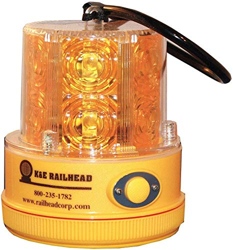 Revolving Safety/Warning Light, Amber ()