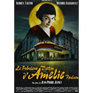 Twenty-three 24X36 Inchcanvas poster-Amelie - French Movie Poster Spray Painting (Brasserie Caf?)