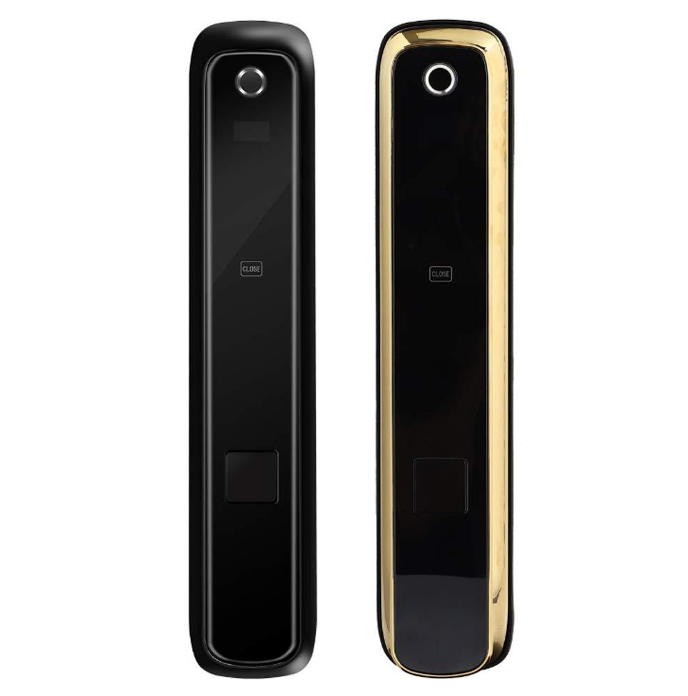 Cerraduras inteligentes Cerradura de teclado digital Código biométrico de huella digital Cerradura de puerta con tarjetas RFID para la seguridad de la ...
