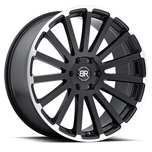 BLACK RHINO SPEAR 22x9.5 5/139.7 ET20 CB78.1 MATTE BLACK W/MATTE MACHINE LIP EDGE