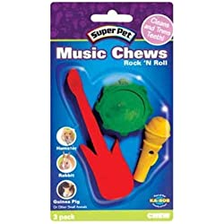 Super Pet Rock 'N Roll Music Chews, 3-Pack