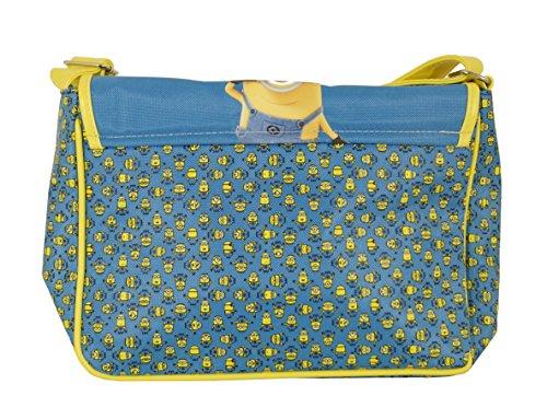 Minions Hello Shultertasche Kinderhandtaschen Damentasche Tasche Henkeltasche Messenger Bag