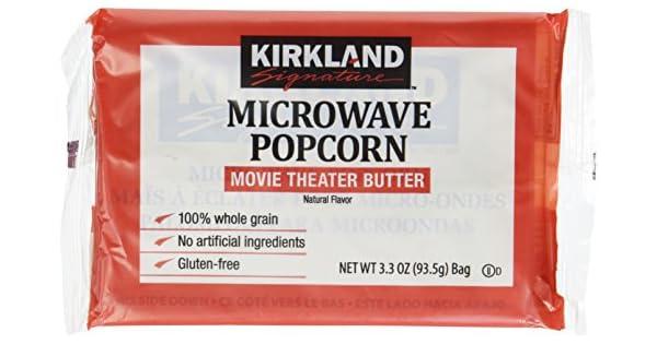 Kirkland bolsas bolsas de palomitas de maíz 3,3 onza – 8 ...