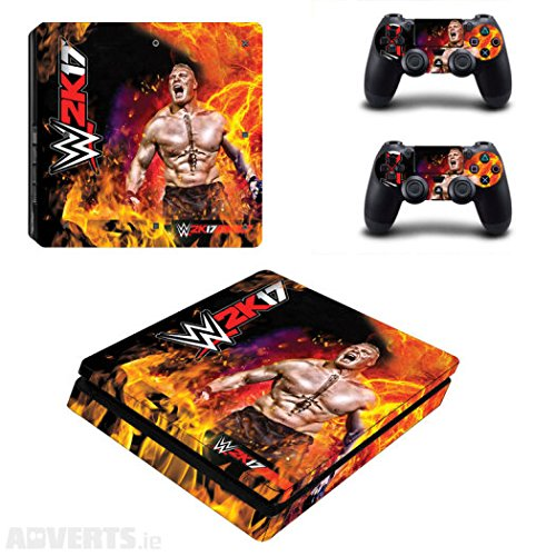 Elton W2K-17 Theme 3M Skin Sticker Cover for PS4 slim Console and Two Controllers (B076HRP1RG) Amazon Price History, Amazon Price Tracker
