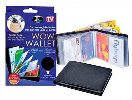 Unisex 24 Cards Wonder Wallet Amazing Slim RFID Wallets - 2