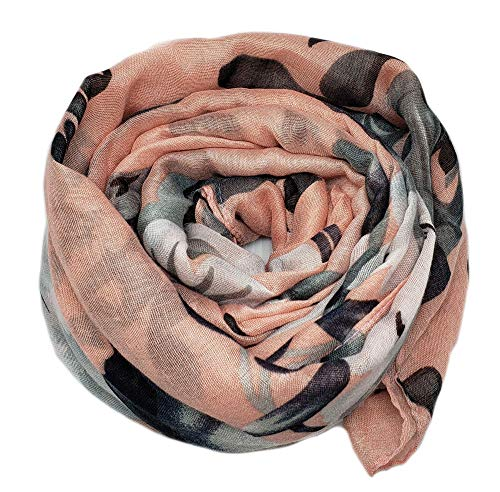 Vibrant Artistic Print Scarf for Women Lightweight Fall Winter Scarves Head Shawl Wraps (Demeter - Demeter Banana