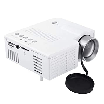 Mini proyector LED portátil 1080P Multimedia Home Theater USB TF ...