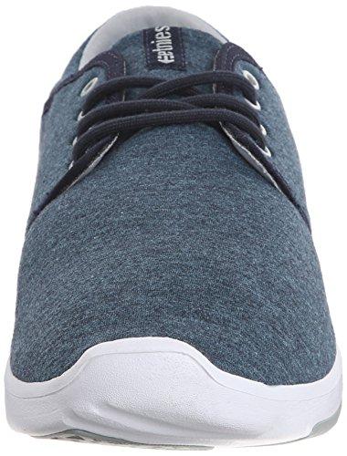 EtniesSCOUT - Zapatillas de Skateboard Hombre Azul - Blau (416/NAVY/GREY/WHITE)
