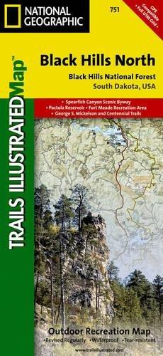 Black Hills North Black Hills National Forest National - Black hills national forest on us map