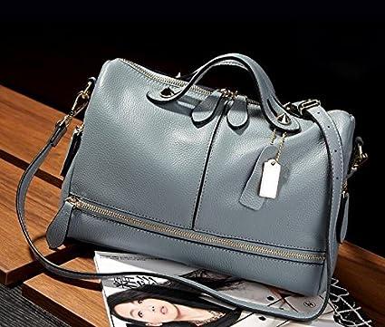 2370104aed3d Amazon.com: Wyhui Fashion Women Genuine Leather Tote Handbag Pillow ...