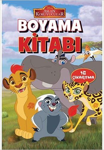 Disney Aslan Koruyucular Boyama Kitabi Collective 9786050938777
