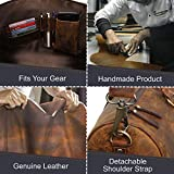 Handmade Leather Duffel Bags For Men - Airplane