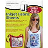 Arts & Crafts : Jacquard Ink Jet Fabric 8.5'' x 11'' Cotton Sheets (10 Pack)