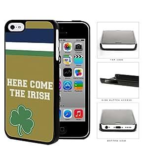 linJUN FENGHere Come The Irish School Spirit Slogan Chant iPhone 5c Hard Snap on Plastic Cell Phone Cover