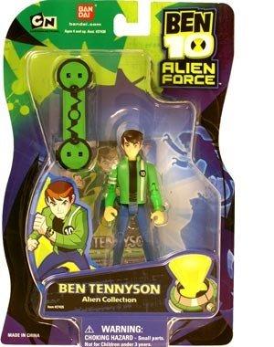 Bandai Ben 10 Tennyson Alien Force Action Figure Alien Collection ()