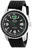 GV2 by Gevril Men's 9304 Lucky 7 Analog Display Automatic Self Wind Black Watch