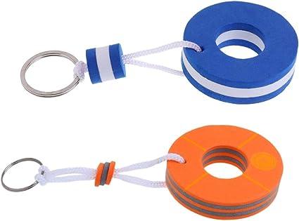 Lightweight Floating Boat Keychain Keyring Floatable Foam Key f Water Sports