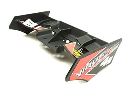 Carson 1:8 4WD Virus 4.0 Truggy 500405828 Rear Spoiler Laminated ...
