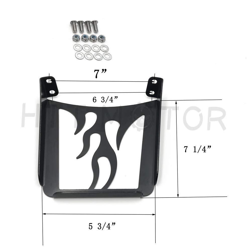 HTT Motorcycle Black Sissy Bar Luggage Rack For Harley Davidson Sportster Xl883C XL883R Xl1200R XL1200C XL1200S Xlh883 Xlh1200 883 1200