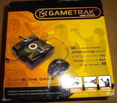 Price comparison product image GameTrak Real World Golf for Playstation 2 (PS2) - Includes Gametrak base unit,  foot pedal,  and trak gloves
