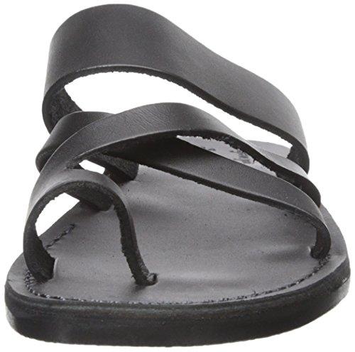 Jerusalem Sandaler Mens Goda Shepard Slide Sandal Svart