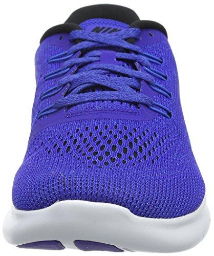 Homme Run Running Bleu Free Noir Bleu Vert Blanc Nike de Chaussures w7ROppAq