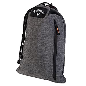 Callaway Golf 2016 Clubhouse Draw String Golf Travel Shoe Bag/Tote