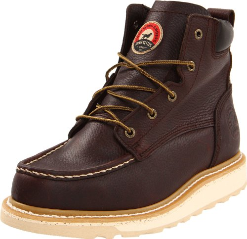 "Irish Setter Men's 6"" 83605 Work Boot,Brown,9 D US"