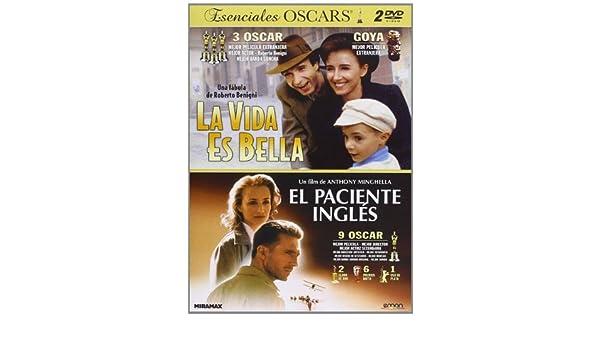 Pack: El Paciente Inglés + La Vida Es Bella [DVD]: Amazon.es ...