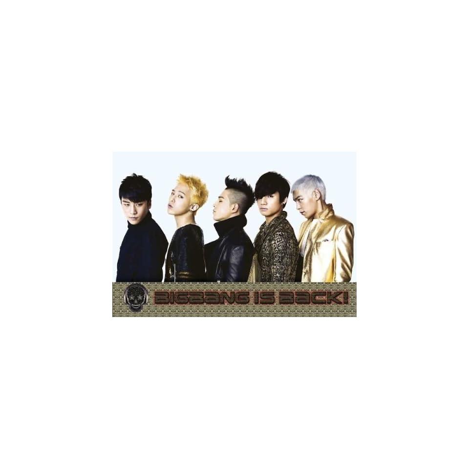 Bigbang is Back horiz POSTER 34 x 23.5 Big Bang Top G Dragon Korean Boy Band (sent from USA in PVC pipe)