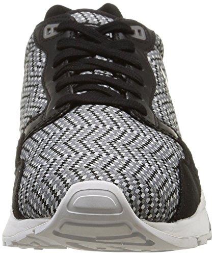 Le Coq Sportif Lcs R900 - Zapatillas de Deporte de lona hombre negro - Noir (Black/White/Jacquard)