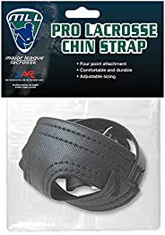 A&R MLL Major League Lacrosse Pro Helmet 4 Pt. Chin Strap Adjustable Blk or