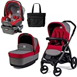 Peg Perego - Book Pop Up Travel System - Tulip