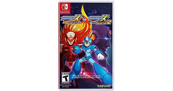 Amazon com: Mega Man X Legacy Collection 1+2 - Nintendo