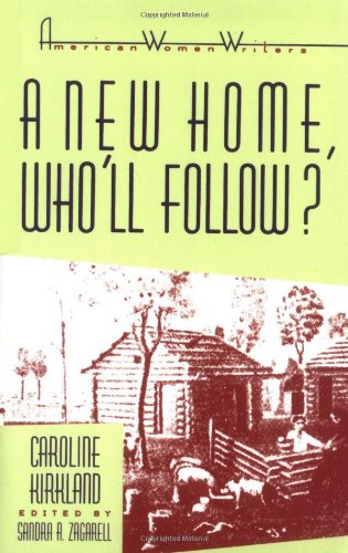 A New Home, Who'll Follow? (American Women Writers Series) (Western New England College)