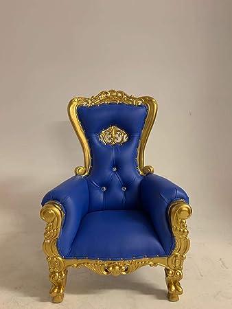 Amazon.com: Mini Crown Tiffany Kids Birthday Throne Chair ...