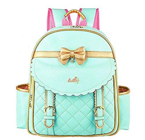 NTJQVUHG Mädchen Taschen Prinzessin Kinder wasserdichte Tasche für 3-14 Jahre alt NO2 L
