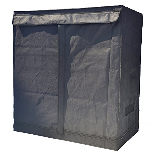 """51Tik3WrdJL - Smart Indoor Grow Tent 43""""x25""""x48"""" 600D Heavy Duty High Mylar Waterproof Grow Room for Indoor Plant Growing 4'x4'"""