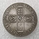 BoBoLing 1700 UK US Dollars - British Old US Coin-Old UK Coin Collecting - British US Shilling Old Coin - Uncirculated/Collectable Condition