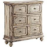 Stein World Furniture Louissa Chest, Aged Cream - Distressed