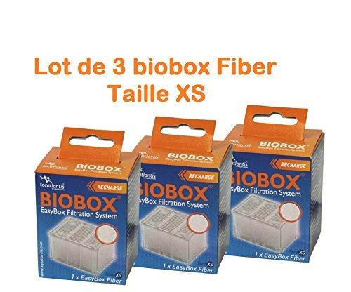 Zolux - Lot de 3 biobox Fiber Taille XS
