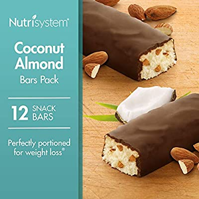 Nutrisystem® Coconut Almond Bars Pack, 12 Count Bars