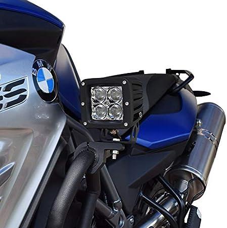 Motorrad Zusatzscheinwerfer Zs12 Für Bmw R 1200 Gs Adventure Exclusive Rallye Led Lumitecs 9 32v 20 Watt Inkl Kabelbaum Auto