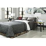 Signature Design by Ashley 1200136 Bladen Sofa Sleeper, Full, Slate
