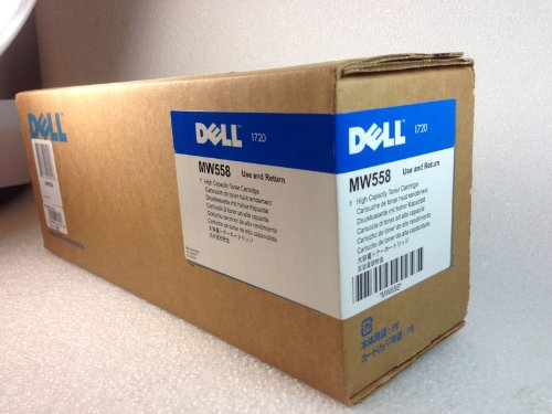 Original Dell 310-8707 High Yield Black Toner Cartridge for 1720/ 1720dn Laser Printer