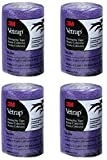 4 Pack - Vetrap by 3M - Bandaging Tape - 4-Inch x 5 yards - Purple - USA