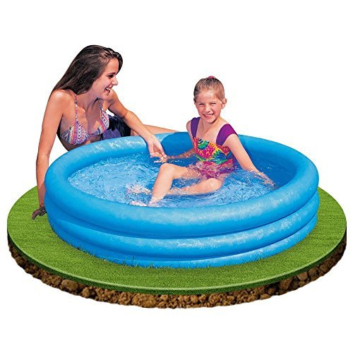 Kids Backyard Teens Floating Intex Floats Family For Adults Kids Outdoor Swimming Pool Floaty Lounger Party Floatie Swim Rings Backyard Beach Lake Float Toys Crystal Blue Pool